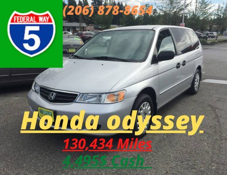 2002 Honda Odyssey for sale at Federal Way Auto Sales in Federal Way WA