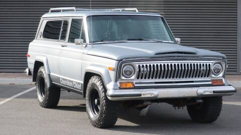 1976 Jeep Cherokee Chief for sale at Sun Valley Auto Sales in Hailey ID