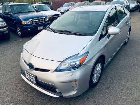 2012 Toyota Prius Plug-in Hybrid for sale at C. H. Auto Sales in Citrus Heights CA