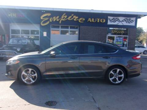 2016 Ford Fusion for sale at Empire Auto Sales in Sioux Falls SD