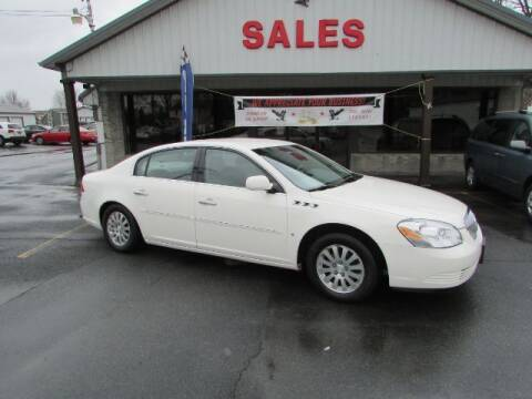 2008 Buick Lucerne for sale at Eagle Auto Center in Seneca Falls NY