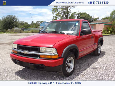 2000 Chevrolet S-10 for sale at M & M AUTO BROKERS INC in Okeechobee FL