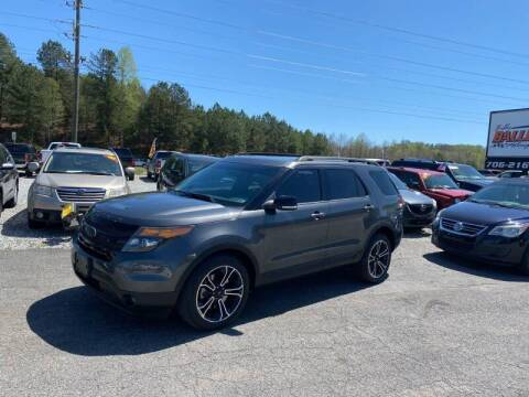 2015 Ford Explorer for sale at Billy Ballew Motorsports in Dawsonville GA