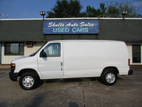 2013 Ford E-Series Cargo for sale at SHULTS AUTO SALES INC. in Crystal Lake IL