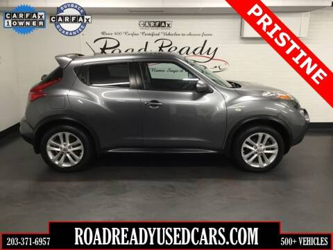2013 Nissan JUKE for sale at Road Ready Used Cars in Ansonia CT