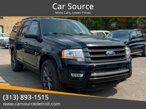 2017 Ford Expedition for sale at Car Source in Detroit MI