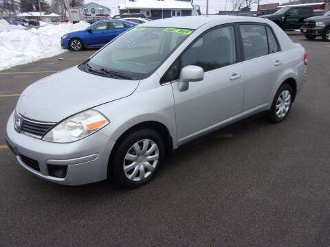 2007 Nissan Versa for sale at Ideal Auto Sales, Inc. in Waukesha WI