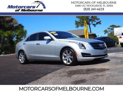 2015 Cadillac ATS for sale at Motorcars of Melbourne in Rockledge FL