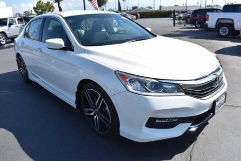 2017 Honda Accord for sale at DIAMOND VALLEY HONDA in Hemet CA