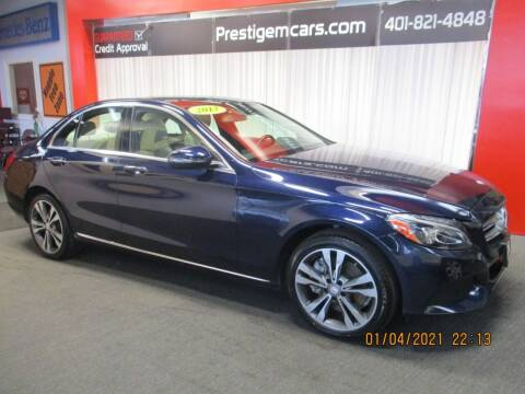 2017 Mercedes-Benz C-Class for sale at Prestige Motorcars in Warwick RI