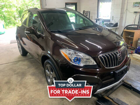 2014 Buick Encore for sale at QUINN'S AUTOMOTIVE in Leominster MA