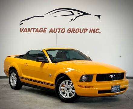 2009 Ford Mustang for sale at Vantage Auto Group Inc in Fresno CA