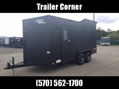2021 Look Trailers 7X18 10K TOY HAULER