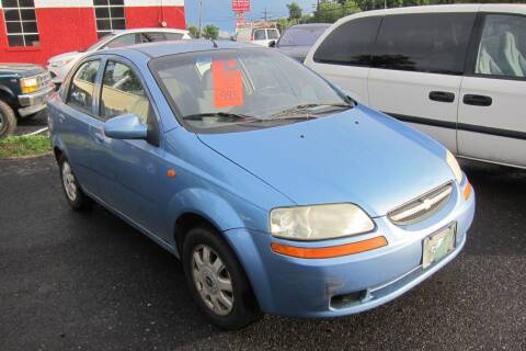 2004 Chevrolet Aveo for sale at K & R Auto Sales,Inc in Quakertown PA