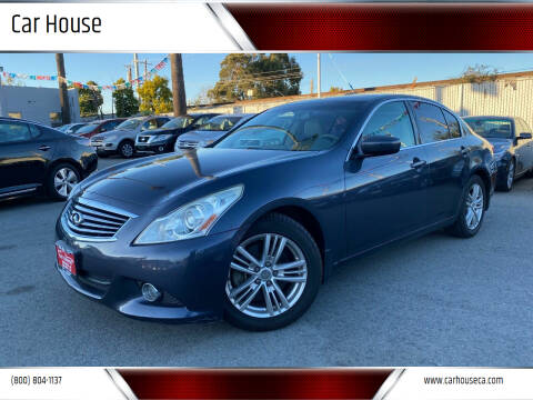 2011 Infiniti G37 Sedan for sale at Car House in San Mateo CA