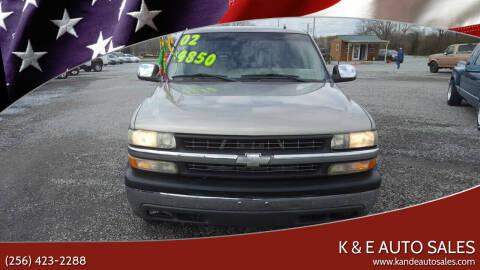2002 Chevrolet Silverado 1500 for sale at K & E Auto Sales in Ardmore AL