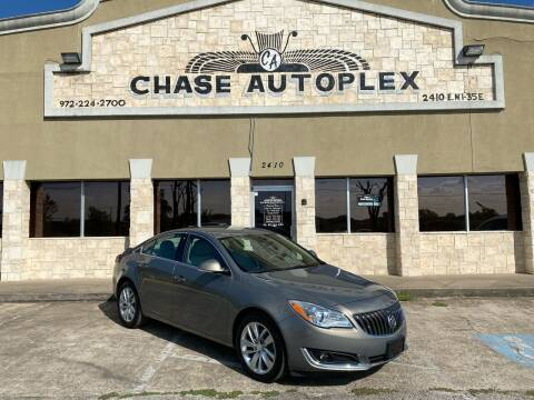 2017 Buick Regal for sale at CHASE AUTOPLEX in Lancaster TX