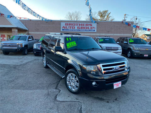 2011 Ford Expedition EL for sale at Brothers Auto Group in Youngstown OH