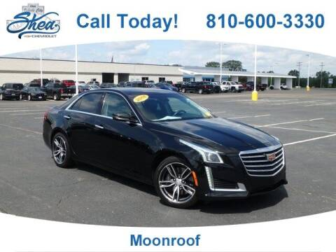 2018 Cadillac CTS for sale at Erick's Used Car Factory in Flint MI