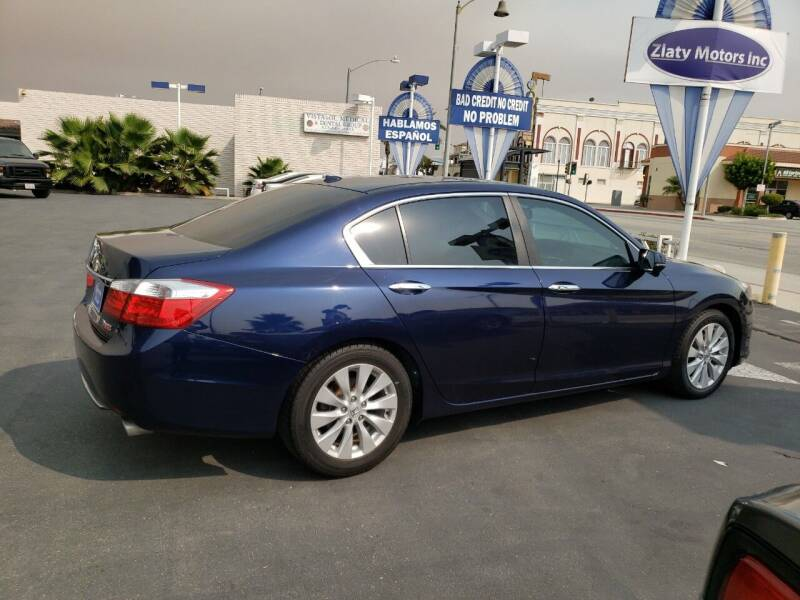 2014 Honda Accord EX-L 4dr Sedan w/Navi - Montebello CA