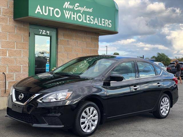2017 Nissan Sentra for sale at New England Wholesalers in Springfield MA