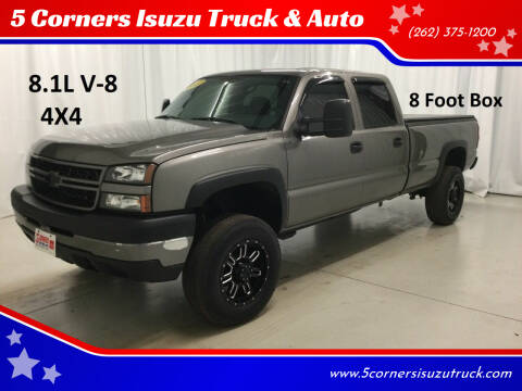 2007 Chevrolet Silverado 2500HD Classic for sale at 5 Corners Isuzu Truck & Auto in Cedarburg WI