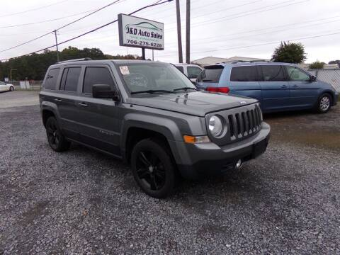 2012 Jeep Patriot for sale at J & D Auto Sales in Dalton GA