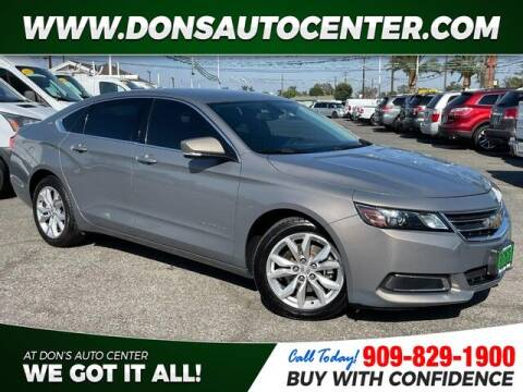 2017 Chevrolet Impala for sale at Dons Auto Center in Fontana CA
