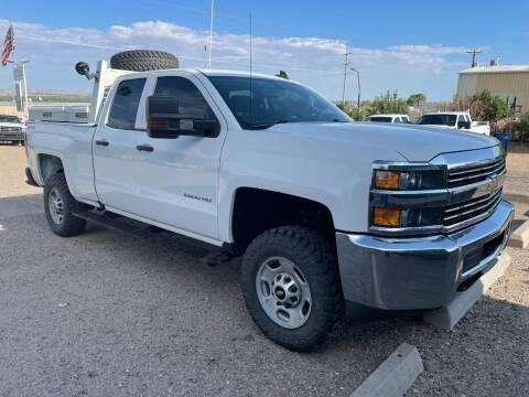 2016 Chevrolet Silverado 2500HD for sale at Samcar Inc. in Albuquerque NM