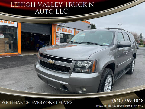 2008 Chevrolet Tahoe for sale at Lehigh Valley Truck n Auto LLC. in Schnecksville PA
