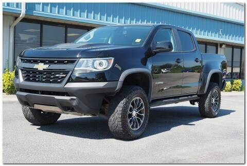2018 Chevrolet Colorado for sale at STRICKLAND AUTO GROUP INC in Ahoskie NC