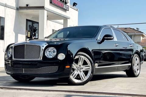 2012 Bentley Mulsanne for sale at Fastrack Auto Inc in Rosemead CA
