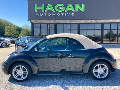 2005 Volkswagen New Beetle Convertible for sale at Hagan Automotive in Chatham IL