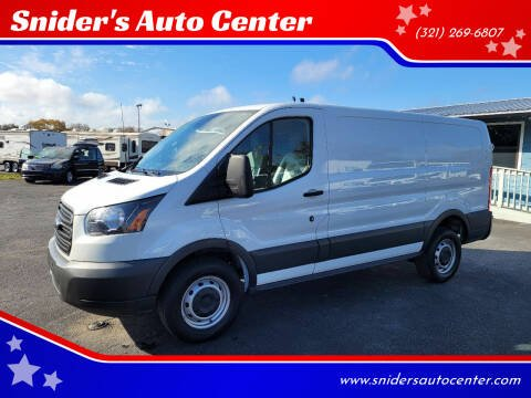 2018 Ford Transit Cargo for sale at Snider's Auto Center in Titusville FL
