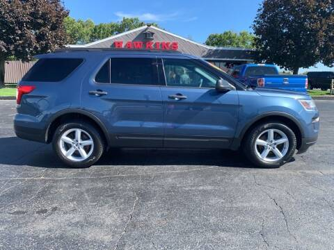 2018 Ford Explorer for sale at Hawkins Motors Sales in Hillsdale MI