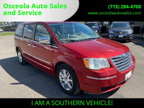 2009 Chrysler Town and Country for sale at Osceola Auto Sales and Service in Osceola WI