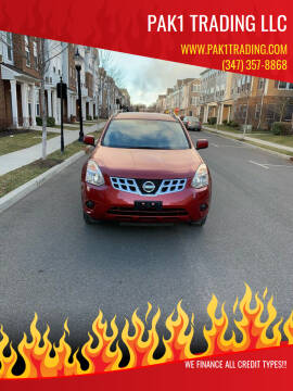 2012 Nissan Rogue for sale at Pak1 Trading LLC in South Hackensack NJ