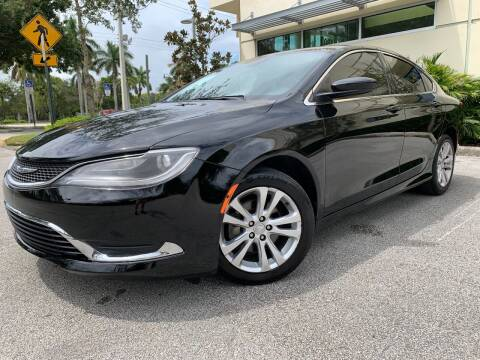 2015 Chrysler 200 for sale at Car Net Auto Sales in Plantation FL