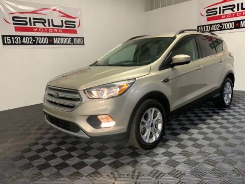 2018 Ford Escape for sale at SIRIUS MOTORS INC in Monroe OH