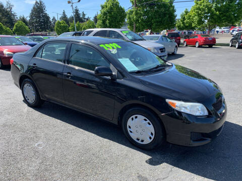 2009 Toyota Corolla for sale at Pacific Point Auto Sales in Lakewood WA