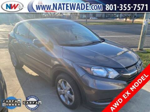2016 Honda HR-V for sale at NATE WADE SUBARU in Salt Lake City UT