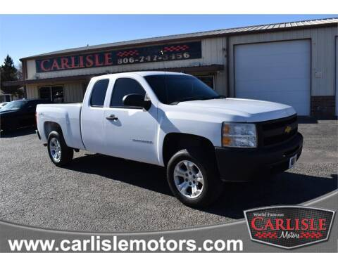 2013 Chevrolet Silverado 1500 for sale at Carlisle Motors in Lubbock TX