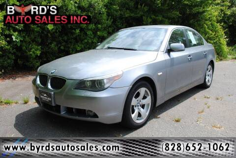 2007 BMW 5 Series for sale at Byrds Auto Sales in Marion NC