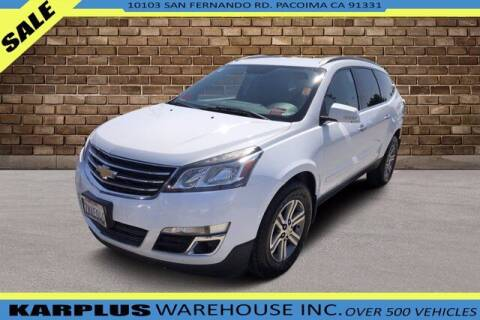 2016 Chevrolet Traverse for sale at Karplus Warehouse in Pacoima CA