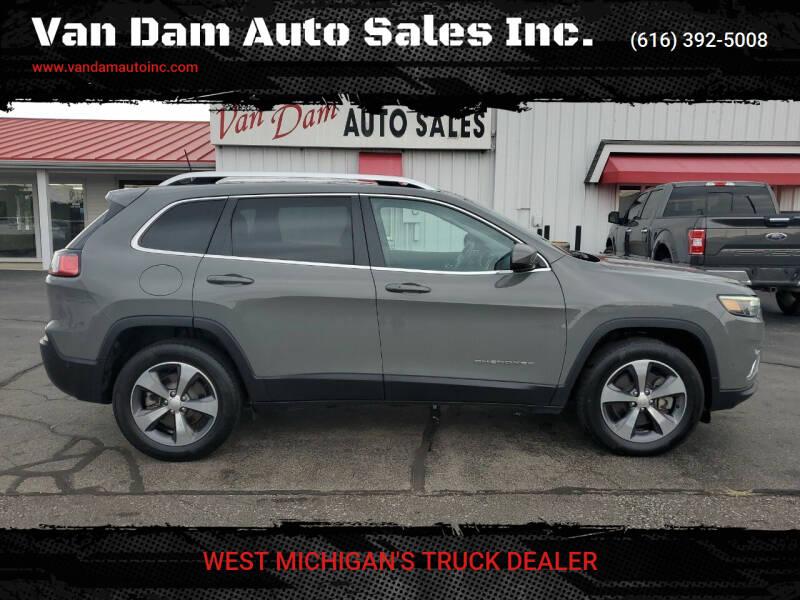 2019 Jeep Cherokee for sale at Van Dam Auto Sales Inc. in Holland MI