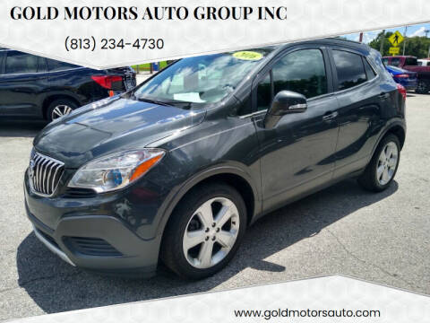 2016 Buick Encore for sale at Gold Motors Auto Group Inc in Tampa FL