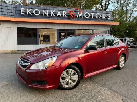2011 Subaru Legacy for sale at Ekonkar Motors in Scotch Plains NJ