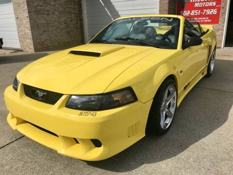 2003 Ford Mustang for sale at HillView Motors in Shepherdsville KY