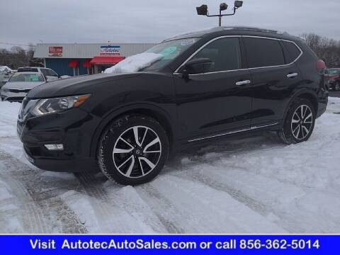 2019 Nissan Rogue for sale at Autotec Auto Sales in Vineland NJ