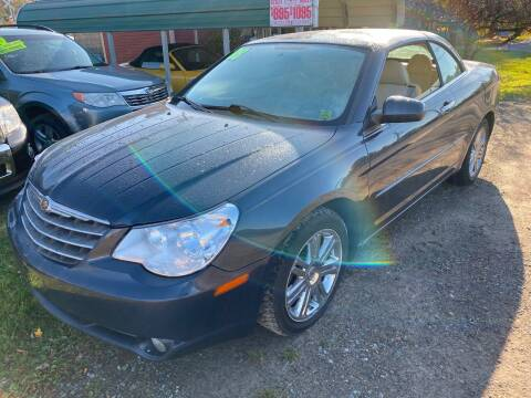 2008 Chrysler Sebring for sale at Richard C Peck Auto Sales in Wellsville NY